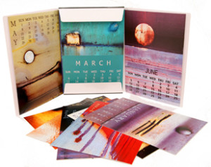Cheap Calendar Printing China - Art Calendar with Folder